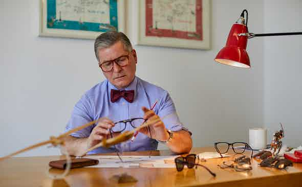 Making a Spectacle: Hackett's Signature Collection