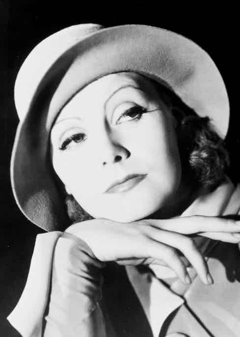Great Garbo in The Kiss in 1929. Photo by SNAP/REX