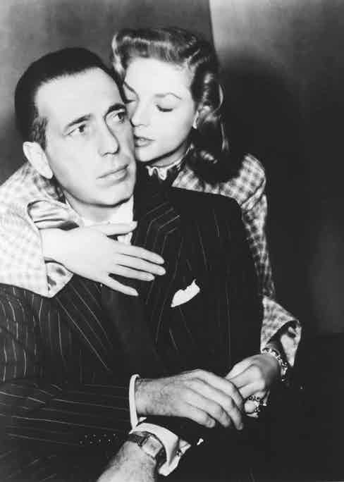 Starring in To Have and Have Not in 1944, when they met on set, she aged 19 and he 44.
