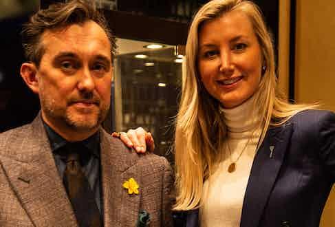 Chris Modoo and Caroline Andrew