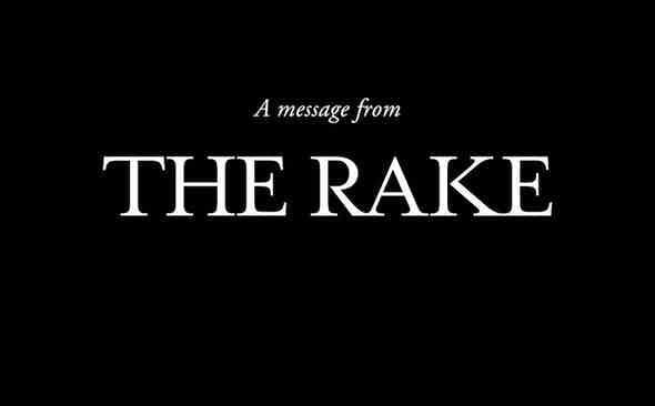 A Message from The Rake