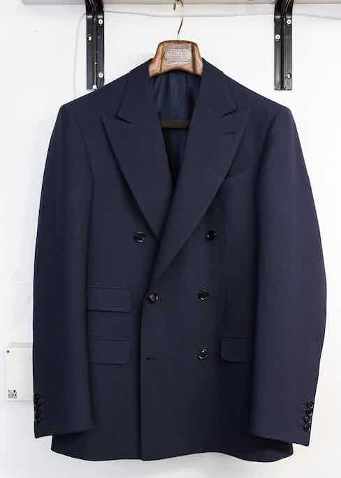 Double-Breasted Jacket by F. Caraceni.