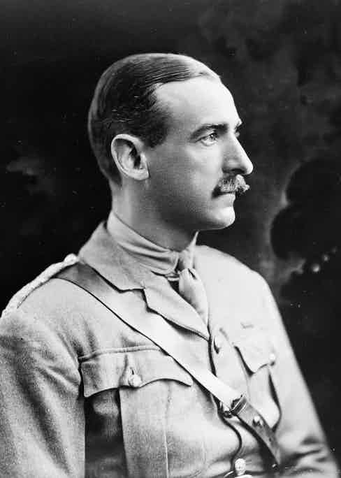 Adrian Carton de Wiart, pictured here in the First World War as a lieutenant colonel.