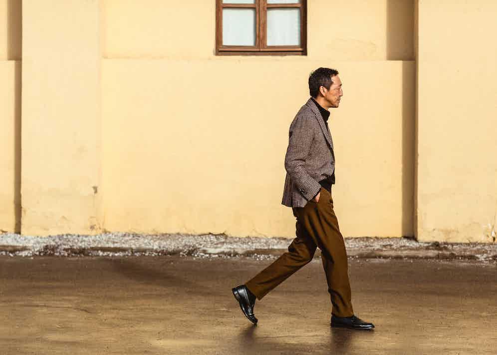 Yasuto Kamoshita photographed by Milad Abedi.