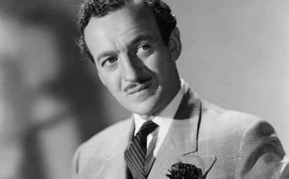 THE LOVELIEST JOKE: David Niven