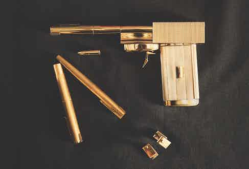 The golden gun.