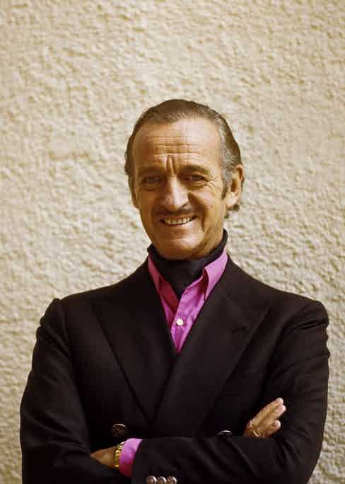 David Niven. (Photo by Horst Prange/ullstein bild via Getty Images)