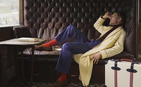 Turnbull & Asser: Cinematic Loungewear