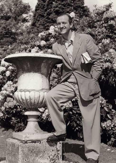 David Niven - 1951 Photo by Cornel Lucas/Kobal/Shutterstock (5860109a)
