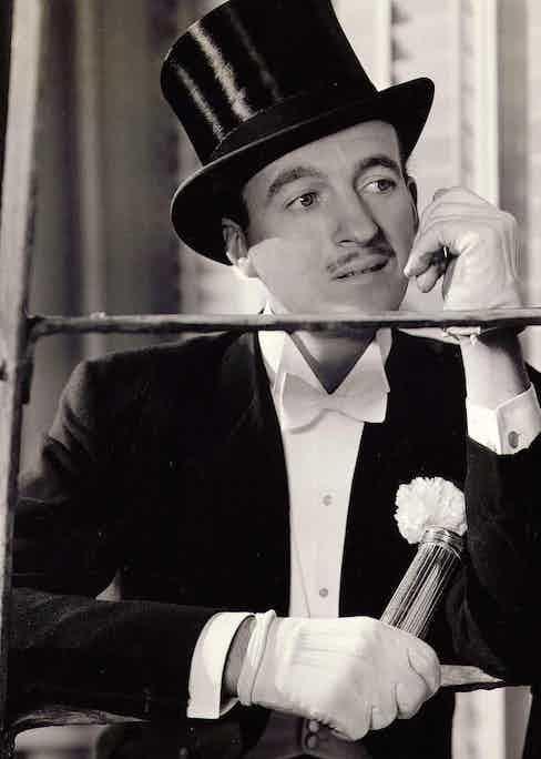 David Niven Raffles - 1939 Photo by Bob Coburn/United Artists/Kobal/Shutterstock (5873873d)