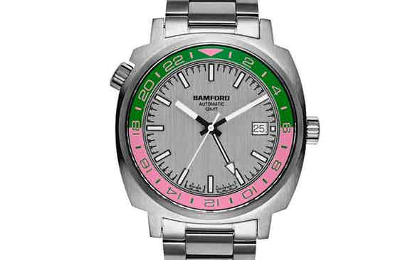 Bamford Donates Unique Pink & Green GMT to Revolution x The Rake Covid-19 Solidarity Auction