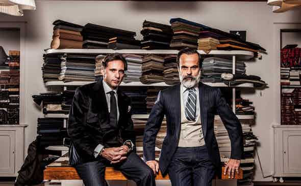 Cifonelli Donate Bespoke Suit for Revolution x The Rake Covid-19 Solidarity Auction