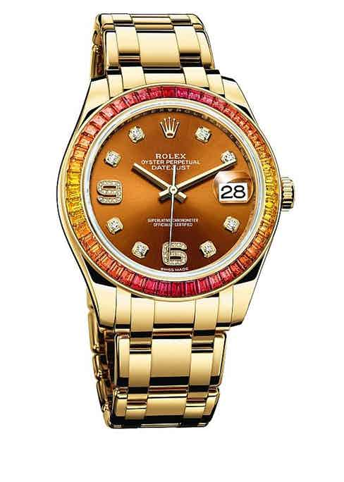 Reference 86348 SAJOR with Cognac Dial.