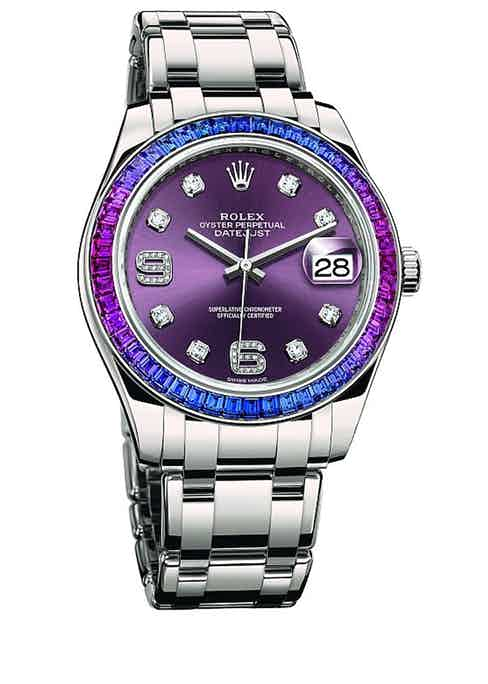 Reference 86349 SAFUBL with Red Grape Dial.