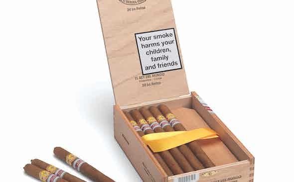 Hunters & Frankau donate box of Regional Edition El Rey del Mundo 'La Reina' cigars to Covid-19 Solidarity Auction