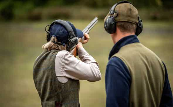 The Royal Berkshire Shooting School donate a shooting experience to the Covid-19 Solidarity Auction