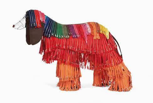 Zipdog sculpture