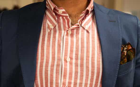 Look of The week: Buttoning down boredom