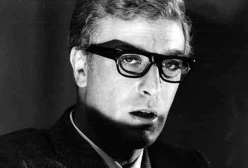 Michael Caine in The Ipcress File (Photo by ITV/Shutterstock/GTV ARCHIVE)