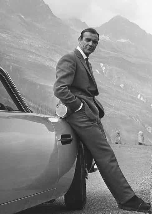 Sean Connery in Goldfinger, 1964 (Photo by Arthur Evans/Danjaq/Eon/Ua/Kobal/Shutterstock)