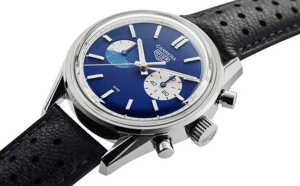 The TAG Heuer x The Rake x Revolution 'Blue Dreamer' Chronograph is donated to the Covid-19 Solidarity Auction