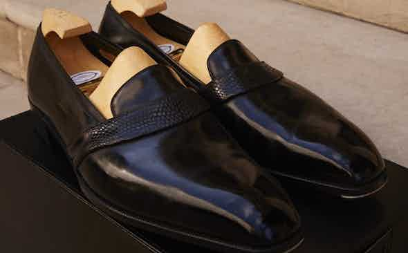 Cleverley Donates Pair of Bespoke Shoes to Revolution x The Rake Covid-19 Solidarity Auction