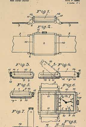 The patent for the Reverso.