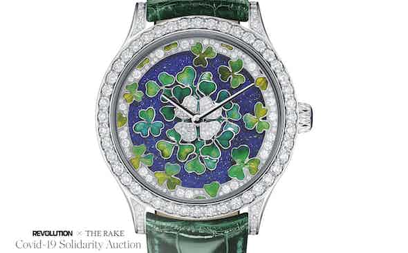 Van Cleef & Arpels – The Midnight Palais de la Chance, Four Leaf Clover Watch