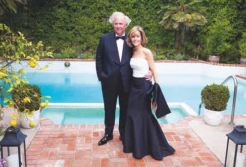 Carter and his wife, Anna Carter, in Beverly Hills