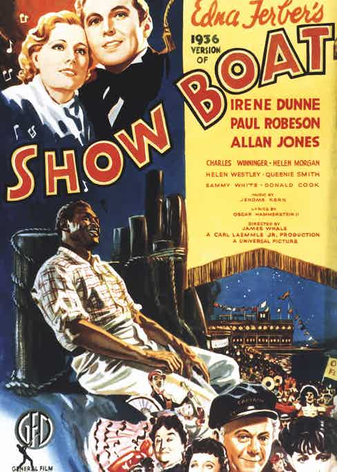Showboat poster (Photo by LMPC via Getty Images)