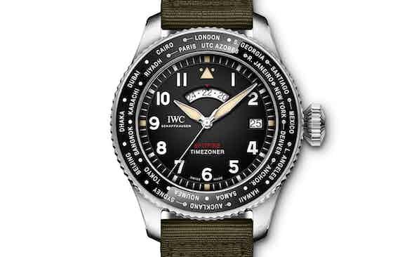 IWC Donates Prototype Spitfire Timezoner to Covid-19 Solidarity Auction