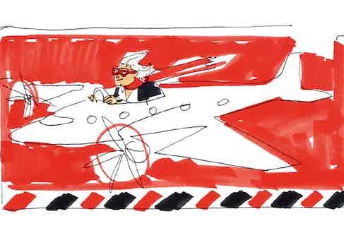 Illustration by Donald Robertson.