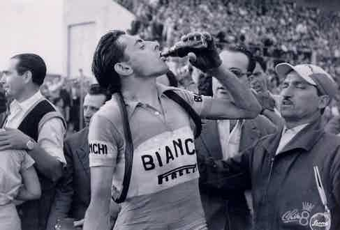 Fausto Coppi, Giro d'Italia, 1951 (Photo courtesy of Alamy)