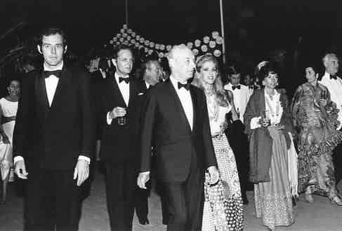 Barón Guy de Rothschild.