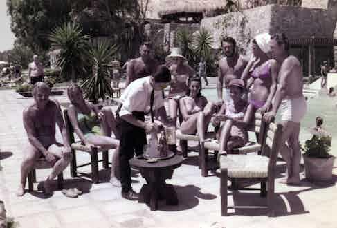 Beach Club drinks