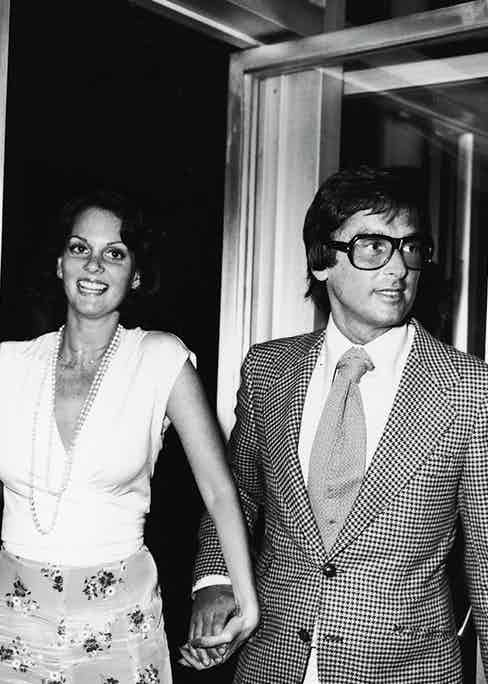With Lesley Ann Warren (Photo courtesy of Getty)