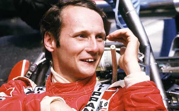 OUT OF THE FIRE: Niki Lauda