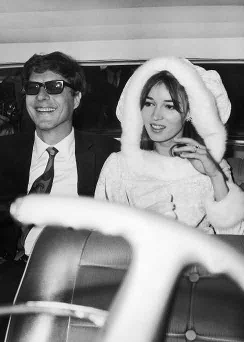 Jean Paul Getty, in Rome - got married to the artist Talitha Pol at Rome City Hall on December 10th, 1966.