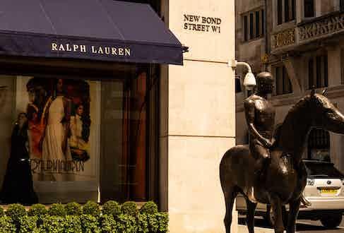 Ralph Lauren's Flagship Store, 1 New Bond Street.