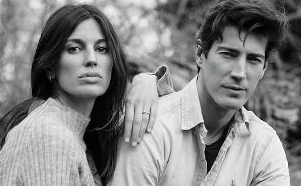 ROLE MODELS: Oriol Elcacho and Davinia Pelegri