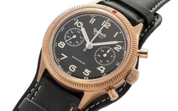 Introducing the Hanhart x The Rake & Revolution Limited Edition Bronze 417 Chronograph