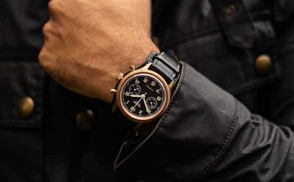 Our Commitment to Value: The Hanhart 417 & Belstaff Trialmaster USD 2,300 Bundle