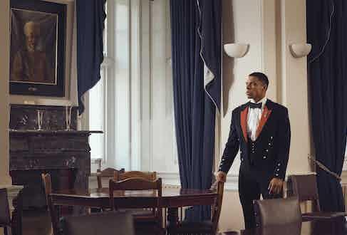 Royal Artillery officer's mess dress (aka Number 10s).