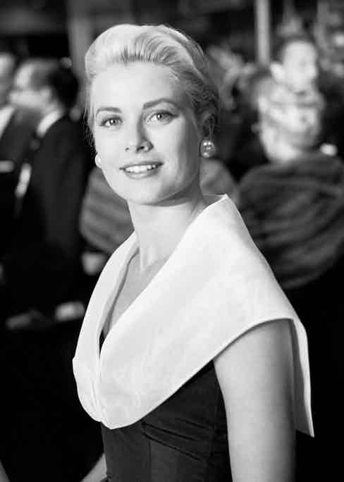 """Actress Grace Kelly attends the premiere of the movie """"Rear Window"""" which was released on August 1, 1954. (Photo by Frank Worth, Courtesy of Emage International/Getty Images)"""