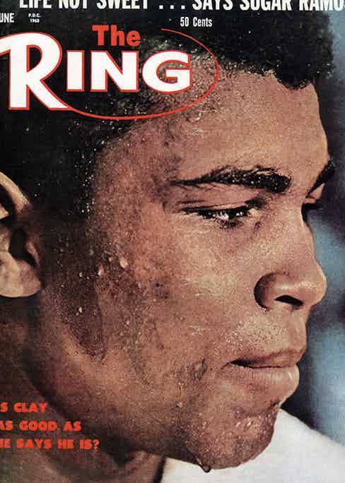 On the cover of The Ring magazine, June/July, 1963 (Photo courtesy of Getty Images)