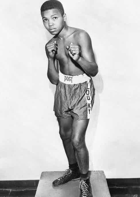 Cassius Clay at the age of 12 (Photo courtesy of Getty Images)