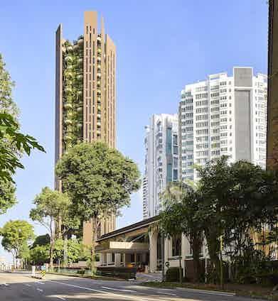 EDEN locates adjacent to Singapore's exclusive private Tanglin Club