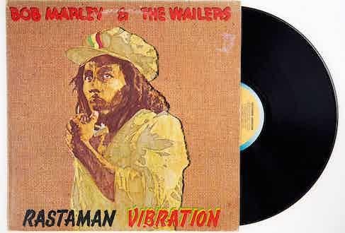 Rastaman Vibration, released in 1976.