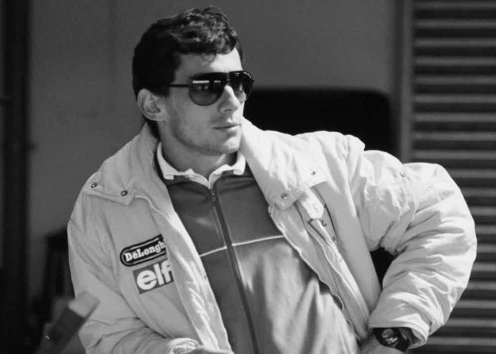 Ayrton Senna, 1987.