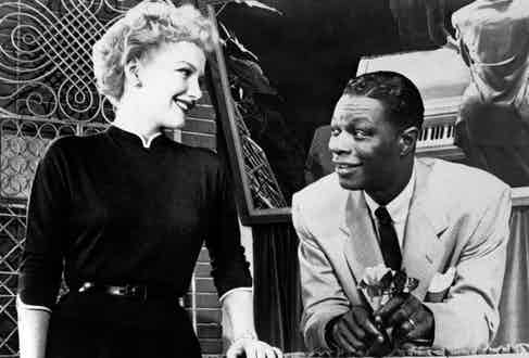 Nat King Cole in The Blue Gardenia, 1953 (Photo courtesy of Alamy)